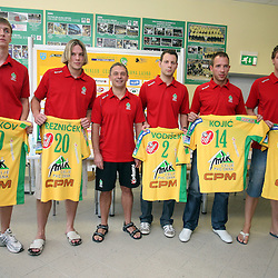 20080902: Handball - Press conference of Celje PL
