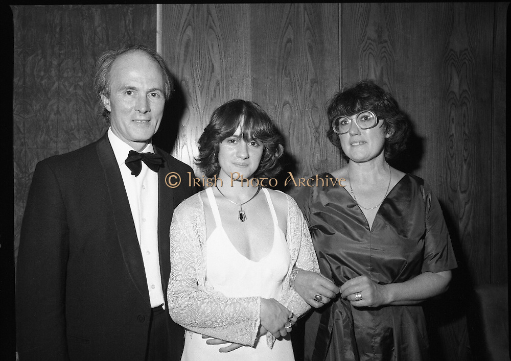 Notre Dame Des Missions Debutante Ball  (N51)..1980..15.11.1980..11.15.1980..15th November 1980..The Notre Dame Des Missions Convent School held the 18th annual Debutantes Ball. The ball was held in Jury's Hotel,Ballsbridge ,Dublin. The convent school is located in Churchtown,Dublin 14.