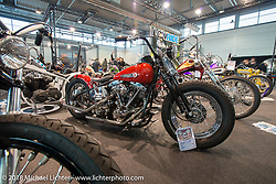 LowRide Magazine bike show in Halll 1 of Motor Bike Expo. Verona, Italy. January 22, 2016.  Photography ©2016 Michael Lichter.