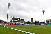 General view of the County Ground ahead of the Specsavers County Champ Div 1 match between Somerset County Cricket Club and Essex County Cricket Club at the Cooper Associates County Ground, Taunton, United Kingdom on 26 September 2019.