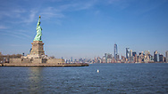 NEW YORK  2020V10<br /> Frihetsgudinnan med Manhattan i bakgrunden.<br /> <br /> Foto: Per Danielsson/Projekt.P