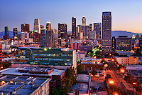 Los Angeles Skyline at Sunrise