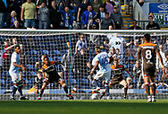 Goal scored by Blackburn Rovers Kasey Palmer during the EFL Sky Bet Championship match between Blackburn Rovers and Brentford at Ewood Park, Blackburn, England on 25 August 2018.