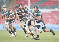 Rugby Union - 2020 / 2021 Gallagher Premiership - Leicester Tigers vs Bath - Welford Road<br /> <br /> Leicester Tigers' Ellis Genge in action during this afternoon's game<br /> <br /> COLORSPORT/ASHLEY WESTERN