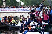 Koning Willem-Alexander, koningin Máxima en prinses Beatrix woonden maandagavond het traditionele 5 meiconcert bij op de Amstel in Amsterdam.<br /> <br /> King Willem-Alexander, Queen Maxima and Princes  Beatrix attended the traditional 5 meiconcert ( on liberatioon day ) at the Amstel River in Amsterdam.<br /> <br /> Op de foto/ On the photo:  Concert aan de amstel