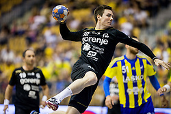 Rok Ovnicek of Gorenje during handball match between RK Celje Pivovarna Lasko and RK Gorenje Velenje in Last Round of 1. Liga NLB 2016/17, on June 2, 2017 in Arena Zlatorog, Celje, Slovenia. Photo by Vid Ponikvar / Sportida