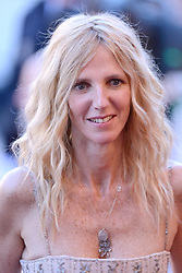 Sandrine Kiberlain arriving at Les Fantomes d'Ismael screening and opening ceremony held at the Palais Des Festivals in Cannes, France on May 17, 2017, as part of the 70th Cannes Film Festival. Photo by Aurore Marechal/ABACAPRESS.COM