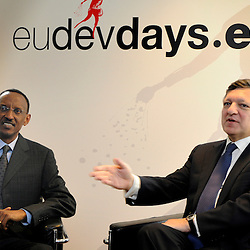 20101206 - Brussels , Belgium - European Development Days - Bilaterals - Paul Kagame , President of Rwanda - José Manuel Durão Barroso , President of the European Commission © European Union - Scorpix