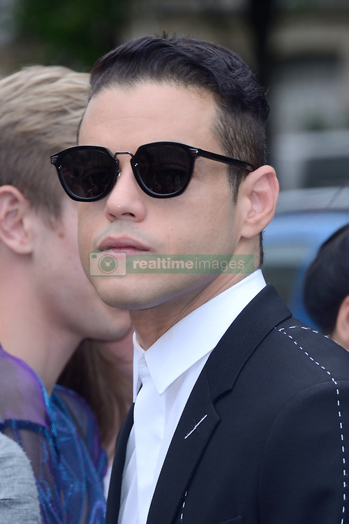 Rami Malek attending the Dior Homme show during the Paris Men's fashion Week Spring Summer 2018, in Paris, France on june 24, 2017. Photo by Aurore Marechal/ABACAPRESS.COM
