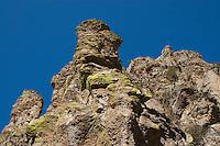 Cliffs in Sycamore Canyon, Coronado National Forest, Arizona
