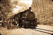 Essex Steam Train - Sepia