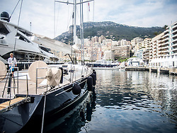 September 24, 2016 - Monaco, Monaco - Super Yacht 'Crossbow' (32m) pictured in Port Hercules for the 26th Monaco Yacht Show with some 125 of the most desirable superyachts from around the world on display between 28 September and 1 October. The Monaco Yacht Show is held in Port Hercules, and is Europe's biggest in-water display of superyachts. (Credit Image: © Hugh Peterswald/Pacific Press via ZUMA Wire)