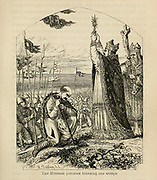 The Norman prelates blessing the troops From the Book 'Danes, Saxons and Normans : or, Stories of our ancestors' by Edgar, J. G. (John George), 1834-1864 Published in London in 1863