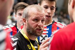 15.10.2016, Halle Hollgasse, Wien, AUT, HLA, SG INSIGNIS Handball WESTWIEN vs HC Fivers WAT Margareten, Grunddurchgang, 8. Runde, im Bild Trainer Peter Eckl (Fivers) // during Handball League Austria, 8 th round match between HC Fivers WAT Margareten and SG INSIGNIS Handball WESTWIEN at the Halle Hollgasse, Vienna, Austria on 2016/10/15, EXPA Pictures © 2016, PhotoCredit: EXPA/ Sebastian Pucher