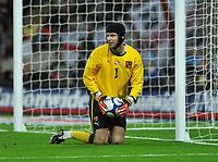 Photo: Tony Oudot/Richard Lane Photography.  England v Czech Republic. International match. 20/08/2008. <br /> Petr Cech of Czech Republic .