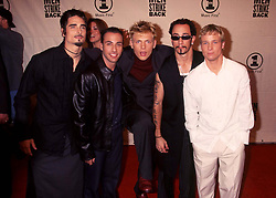 Apr 11, 2000; New York, New York, USA; Pop group the BACKSTREET BOYS @ the VH1 'Men Strike Back' concert @ Madison Square Garden.  (Credit Image: © Nancy Kaszerman/ZUMAPRESS.com)