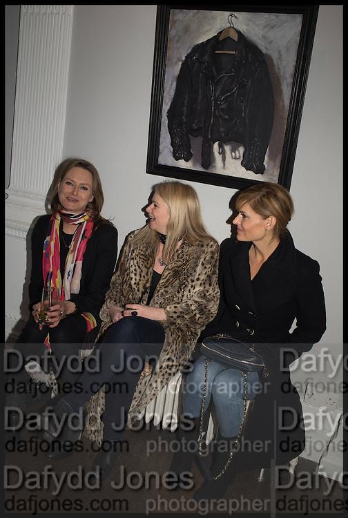 MIKAELA HONEYWILL; LEE STARKEY; Dawn Hoenie,  Private view, Paul Simonon- Wot no Bike, ICA Nash and Brandon Rooms, London. 20 January 2015