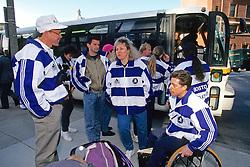 Bob Hall With Friends, Wheel Chair Marathoner, Boston Marathon 1994