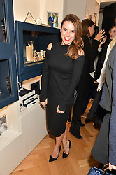 JULIET ANGUS at a party to celebrate the launch of the APM Monaco Flagship Store at 3 South Molton Street, London on 11th February 2016