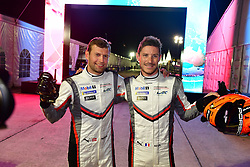 March 14, 2019 - Sebring, Etats Unis - 92 PORSCHE GT TEAM (DEU) PORSCHE 911 RSR GTE PRO MICHAEL CHRISTENSEN (DNK) KEVIN ESTRE (FRA) POLE SITTER GTE PRO (Credit Image: © Panoramic via ZUMA Press)