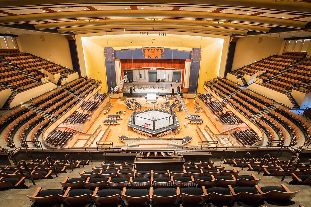 Shreveport's recently renovated Municipal Auditorium.