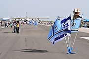 Israel, Tel Nof IAF Base, An Israeli Air force (IAF) exhibition