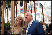 LADY MYNERS; BARON PAUL MYNERS, Royal Academy of Arts Summer Exhibition 2014. Piccadilly. London. 4 June 2014.