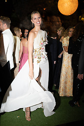 Karolina Kurkova seen at Elie Saab Jr (Fashion designer Elie Saab's son) and Christina Mourad wedding, in Faqra, Lebanon on July 19, 2019. The wedding is among the most incredible weddings of 2019, included four wedding outfits, over a million sequins and 1,200 guest. Photo by Balkis Press/ABACAPRESS.COM