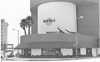 1987 Hard Rock Cafe on Beverly Blvd.