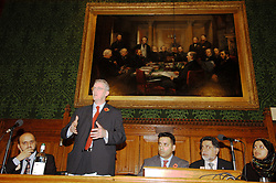 LONDON 9 Nov. 2005...Rt Hon Hilary Benn, Secretary of State for International Development responds to questions from the floor.....The Justice Foundation Kashmir Centre London together with the All-Party Parliamentary Group (APPG) on Kashmir organised a meeting in the House of Commons entitled ?Kashmir After the Earthquake ? Rebuilding Together.