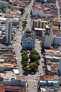 Pouso Alegre_MG, Brasil...Imagem aerea da Catedral Metropolitana de Pouso Alegre...The aerial view of Catedral Metropolitana de Pouso Alegre...FOTO: LEO DRUMOND / NITRO
