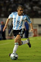 Fotball<br /> VM-kvalifisering Sør Amerika<br /> Argentina v Equador<br /> 30. mars 2004<br /> Buenos Aires<br /> Foto: Digitalsport<br /> Norway Only<br /> <br /> ANDRES D'ALESSANDRO  (ARGENTINA)