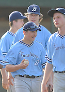 Benedictine vs Vermilion in a high school baseball game at The Pipe Yard in Lorain, Ohio on May 20, 2013.