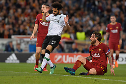 May 2, 2018 - Rome, Italy - Mohamed Salah during the UEFA Champions League semifinal match between AS Roma and FC Liverpool at the Olympic stadium on may 02, 2018 in Rome, Italy. (Credit Image: © Silvia Lore/NurPhoto via ZUMA Press)