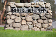 Indian Hill Blvd Monument in Claremont California