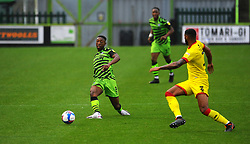 Ebou Adams of Forest Green Rovers looks for a pass - Mandatory by-line: Nizaam Jones/JMP - 03/10/2020 - FOOTBALL - the innocent [insert name here] stadium - Nailsworth, England - Forest Green Rovers v Walsall - Sky Bet League Two