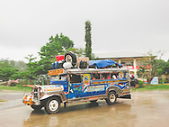 Local bus, Palawan Island, Philippines, Southeast Asia