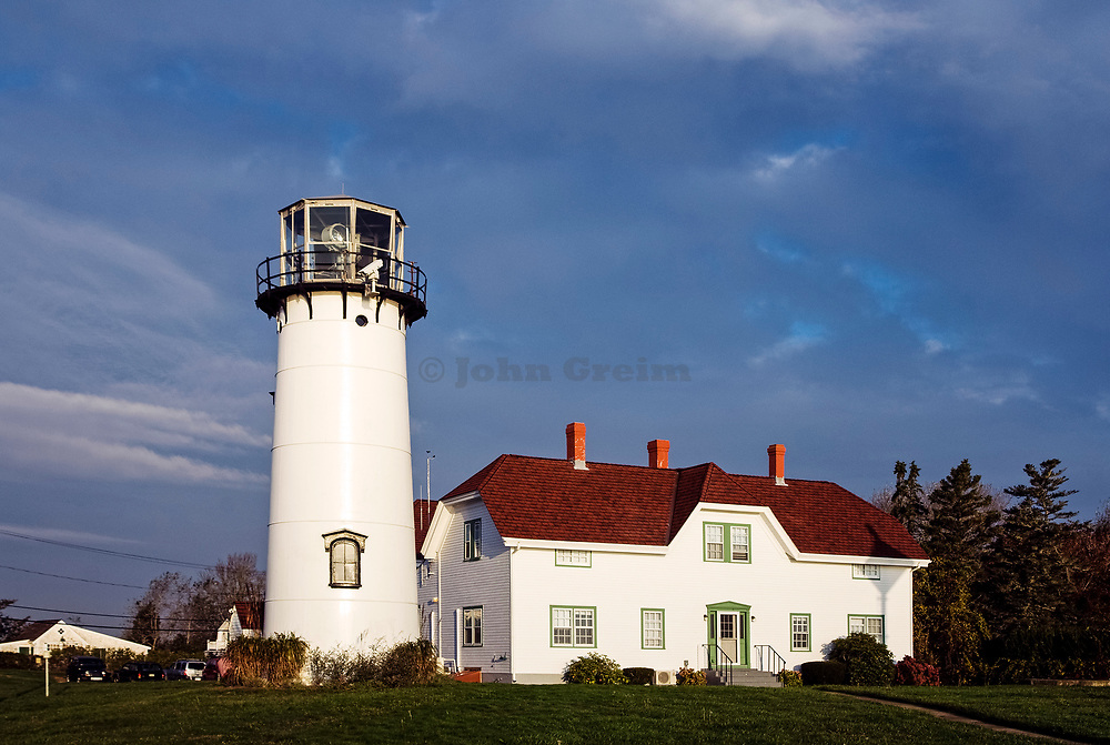 Chatham Light and Coast Guard station, Chatham, Cape Cod, MA