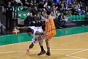 DESCRIZIONE : Treviso Lega due 2015-16  Universo Treviso De Longhi - Aurora Basket Jesi<br /> GIOCATORE : la marshall corbett<br /> CATEGORIA : Equilibrio Palleggio<br /> SQUADRA : Universo Treviso De Longhi - Aurora Basket Jesi<br /> EVENTO : Campionato Lega A 2015-2016 <br /> GARA : Universo Treviso De Longhi - Aurora Basket Jesi<br /> DATA : 31/10/2015<br /> SPORT : Pallacanestro <br /> AUTORE : Agenzia Ciamillo-Castoria/M.Gregolin<br /> Galleria : Lega Basket A 2015-2016  <br /> Fotonotizia :  Treviso Lega due 2015-16  Universo Treviso De Longhi - Aurora Basket Jesi