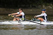 Crew: 99 - Pattison / Duggan - Putney Town Rowing Club - W MasB/C 2- <br /> <br /> Pairs Head 2020