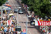 Huzarski van team Bora-Argos 18. In Utrecht is deTour de France van start gegaan met een tijdrit. De stad was al vroeg vol met toeschouwers. Het is voor het eerst dat de Tour in Utrecht start.<br /> <br /> In Utrecht the Tour de France has started with a time trial. Early in the morning the city was crowded with spectators. It is the first time the Tour starts in Utrecht.