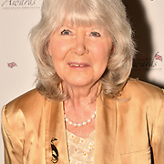 Jilly Cooper attend the 7th annual Churchill Awards honour achievements of the Over 65's at Claridge's Hotel on 10 March 2019, London, UK.