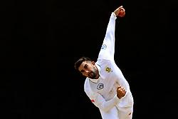 July 6, 2018 - Colombo, Sri Lanka - South African cricketer Tabraiz Shamsi delivers a ball during the first day of their Tour match against Sri Lanka Board XI   at Colombo, Sri Lanka on Saturday 7, July 2018. (Credit Image: © Tharaka Basnayaka/NurPhoto via ZUMA Press)