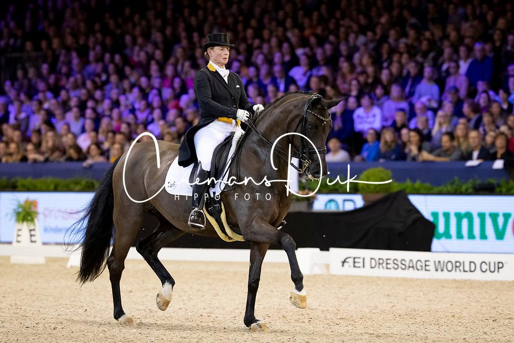 Werth Isabell, GER, Weihegold OLD<br /> Jumping Amsterdam 2019<br /> © Hippo Foto - Dirk Caremans<br /> 26/01/2019