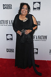Angela Primm at Death Of A Nation Los Angeles Premiere held at Regal L.A. Live: A Barco Innovation Center on July 31, 2018 in Los Angeles, California, United States (Photo by Jc Olivera for Jade Umbrella)