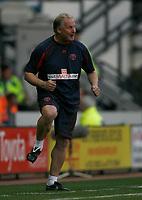 Photo: Steve Bond/Richard Lane Photography. Derby County v Sheffield United. Coca-Cola Championship. 13/09/2008. Kevin Blackwell, hoping mad