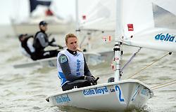 25-05-2013 WATERSPORT: DELTA LLOYD REGATTA: MEDEMBLIK<br /> Medalrace Marrit Bouwmeester<br /> ©2013-FotoHoogendoorn.nl