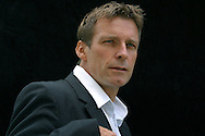 Acclaimed Northern Irish novelist and 2004 Booker Prize long list nominee, Ronan Bennett, pictured at the Edinburgh International Book Festival, where he talked about his latest novel entitled 'Havoc In Its Third Year'. The book festival was a part of the Edinburgh International Festival, the largest annual arts festival in the world.