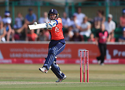 England's captain Heather Knight during the Women's Vitality International T20 Tri-Series Final at The CloudFM County Ground, Chelmsford.