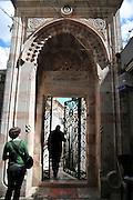 Israel Jerusalem old city Entrance to the El Aqsa Mosque